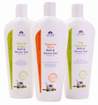derma e luzuriously sented NEW Bath & Shower Gels