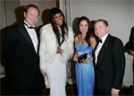 Massimo Radaelli, Naomi Campbell, Michelle Yeoh & Jean Todt