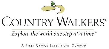 Country Walkers - Explore the world one step at a time.