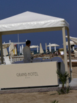 Hotel Grand Rimini Spa on the beah in Italy
