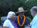 Ojai Film Festival - Larry Hagman & wife